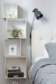 bedroom nightstand ideas 15 nightstand table decor ideas we re obsessed with diy bookcases