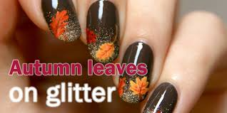 50 latest autumn fall nail art design ideas