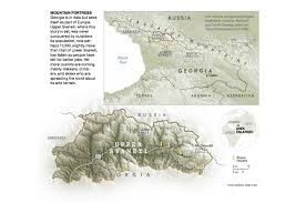 Nat Geo Maps Map Svanetia National Geographic Magazine Aaron Huey Is A