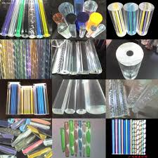 sale clear acrylic curtain rod plexiglass round plastic