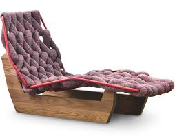 Chaise Lounge Chairs Biknit Chaise Lounge Chair Hivemodern Com