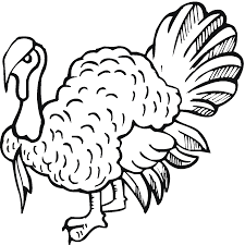 downloads coloring turkey coloring pages 33
