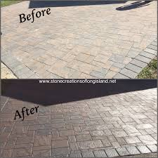how to seal patio pavers paver and stone sealing experts deer park n y 11729