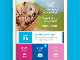 baskin robbins launches new mobile app available for iphone and