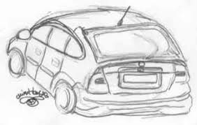 cartoon drawings of cars tutorial draw cartoon cars three in one