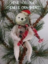 handmade primitive ornaments primitive santa