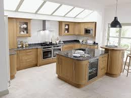 kitchen birch cabinets grey brick backsplash kitchen island eat
