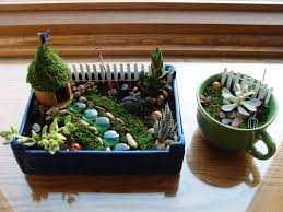 Mini Fairy Garden Ideas by Indoor Fairy Garden And Teacup Garden For The Home Pinterest