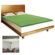 Queen Mattress Topper Bedroom Interesting Tufted Bed With Green Queen Memory Foam