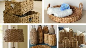 baskets for home decor cane baskets home decor