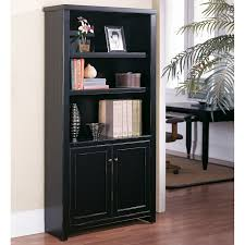 book case with glass doors kathy ireland home by martin tribeca loft bookcase with doors