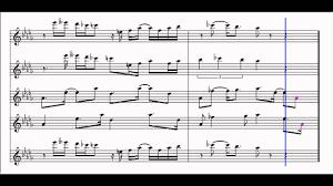 super mario bros 3 music box sheet music