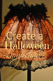 Fun And Easy Halloween Crafts by Create An Whimsical Halloween Lampshade