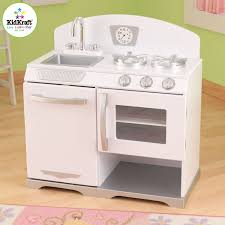 cuisine d enfants kidkraft 53234 jeu d imitation cuisine réchaud rétro blanc
