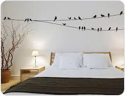 Bedroom Wall Sticker Interior Design Ideas For Home Design Good - Wall sticker design ideas