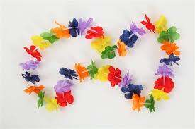 flower leis rainbow flower leis