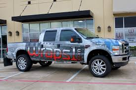Pink Camo Ford Truck - vehicle wraps dallas commercial wraps custom wraps u0026 graphics