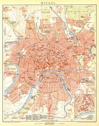 Moscow On Map Kodeks Moscow City Map 1892