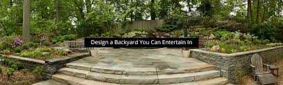 Designing A Backyard Vistapro Landscape U0026 Design Landscaping Services In Annapolis Md