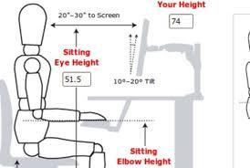 Ergonomic Desk Position Desk Awesome Ergonomics In Ergonomic Setup Popular Excellent How