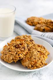 carrot cake breakfast cookies recipe well vegan