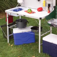 Outdoor Camping Sink Station by Coleman Packaway Camp Kitchen Walmart Com