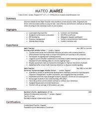 sle resume best resume exle livecareer
