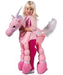 pink ride a unicorn costume kids halloween costumes