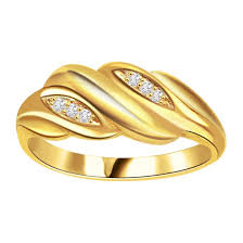 golden rings designs images Classic diamond gold rings sdr639 best prices n designs surat jpg