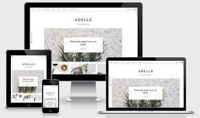 responsive design template responsive template adelle website templates