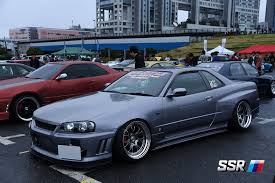 stancenation rx7 ssr wheels at stancenation odaiba 2015 more japan blog