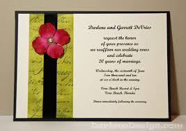 wedding vow cards wednesday s card an invitation to my wedding