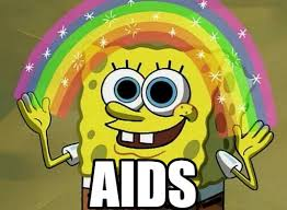 Aids Meme - aids imagination spongebob meme on memegen