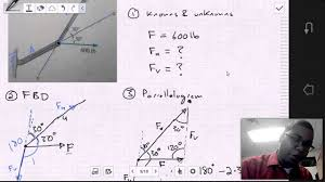 mech 1321 statics chapter 2 1 2 3 examples youtube