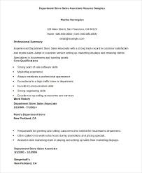 Examples Of Resumes For Sales Associate by Sales Associate Resume 7 Free Sample Example Format Free