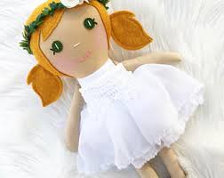 flower girl doll gift flower girl doll etsy