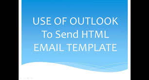how to send html email using outlook youtube