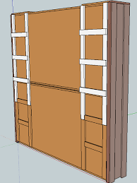 Twin Wall Bed Cool Murphy Bed Diy Plans And Stacked Twin Murphy Bed Ana White