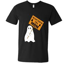 cartoon halloween ghost you can u0027t scare me i u0027m a mom funny halloween ghost tshirt t