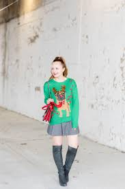 style an ugly christmas sweater sed bona
