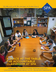 spa magazine spring 2013 by st paul academy issuu