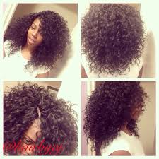 curly crochet braids curls invisible parts crotchet styles