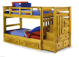 homelegance dreamland twin bunk bed with storage drawers b e