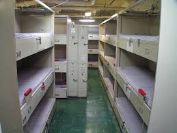 Navy Bunks On The USS Midway These Are Typical Bunks Where Flickr - Navy bunk beds