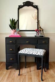 Black Mirrored Bedroom Furniture Bedroom Narrow Makeup Vanity Black Vanity Table Vanity Mirror