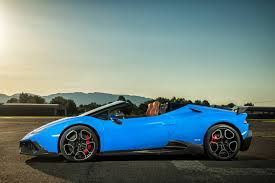 Lamborghini Huracan Blue - official 805hp lamborghini huracan spyder by o ct tuning gtspirit