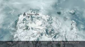 solstheim map a source of stalhrim side missions skaal the