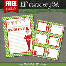 the polka dot posie free printables for your christmas elf