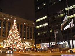 chicago tree lighting ceremony with photo via planet99 guide to