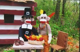 sock monkey thanksgiving the thanksgiving as se flickr